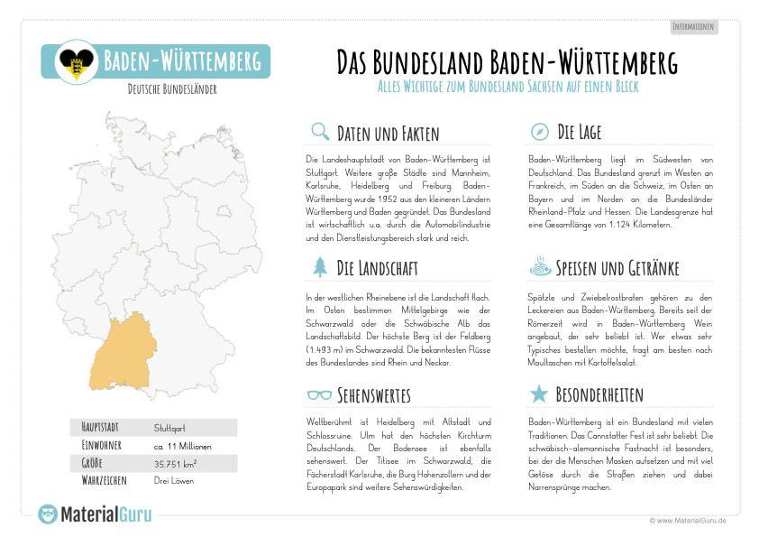 Unterrichtsmaterial Baden Wurttemberg Bundesland Bayern
