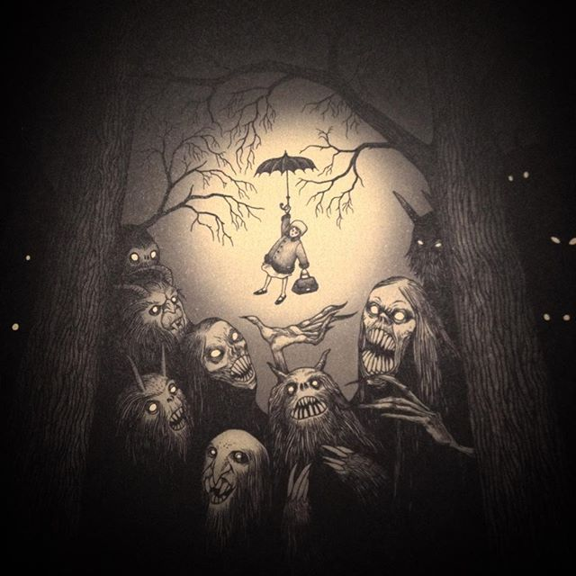 Page One Artofjohnkennmortensen Johnkennmortensen Artbook Monsters Monstre Artwork Scary Creepy Doom Scary Art Scary Drawings Creepy Art