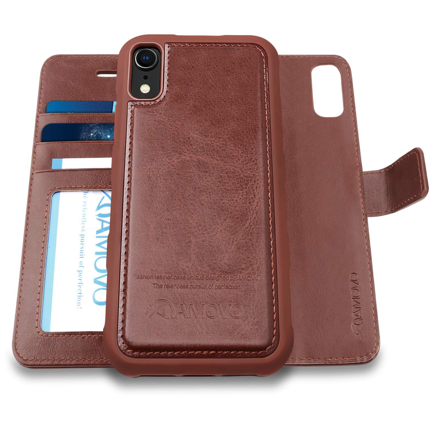 Amovo iphone xr wallet case wallet case wallet iphone