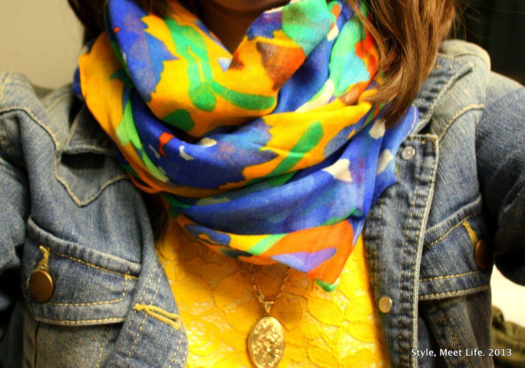Modern Lace | Style, Meet Life.   #scarves #fallfashion