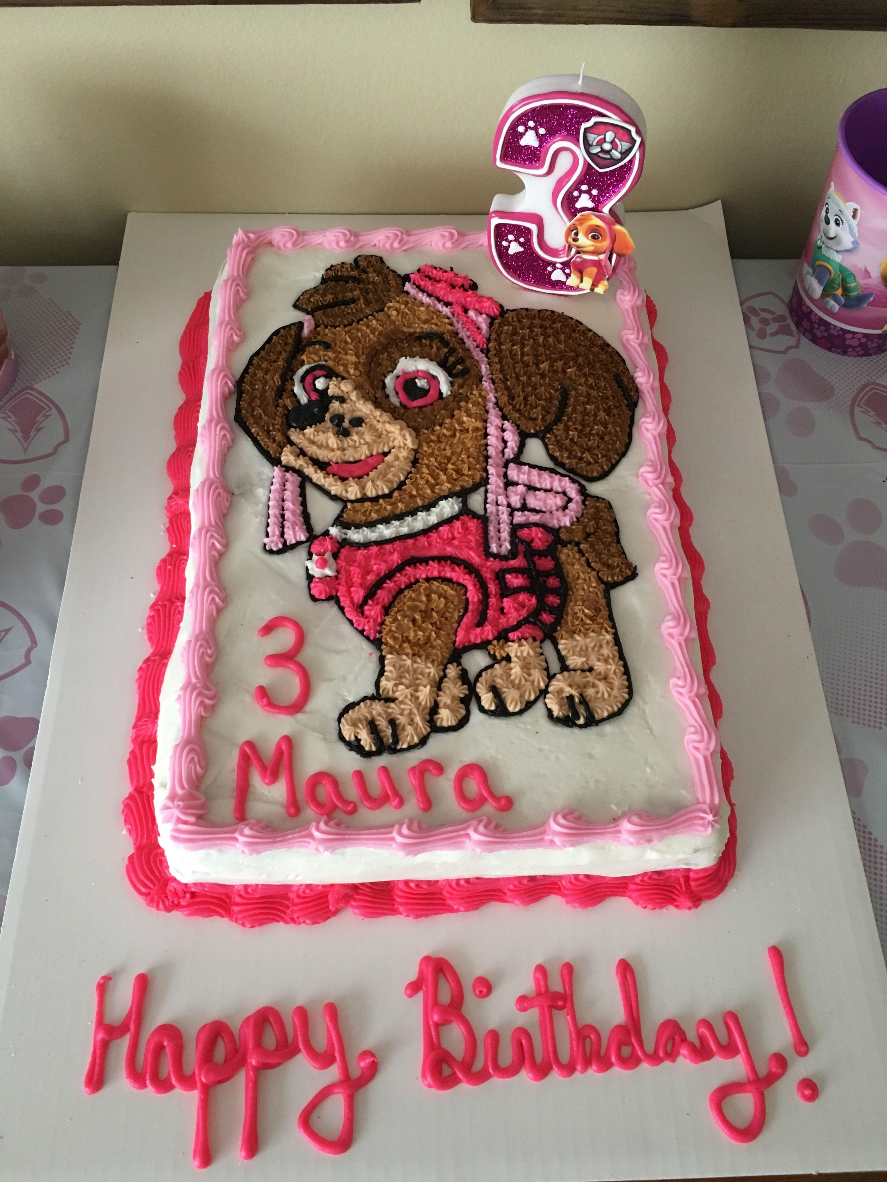 sky paw patrol cake  paw patrol birthday cake paw