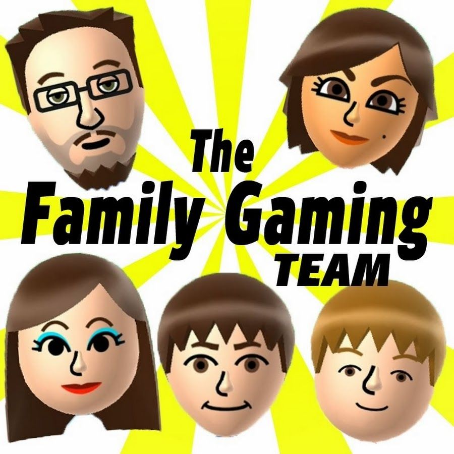 we are a family of 5 who play games and