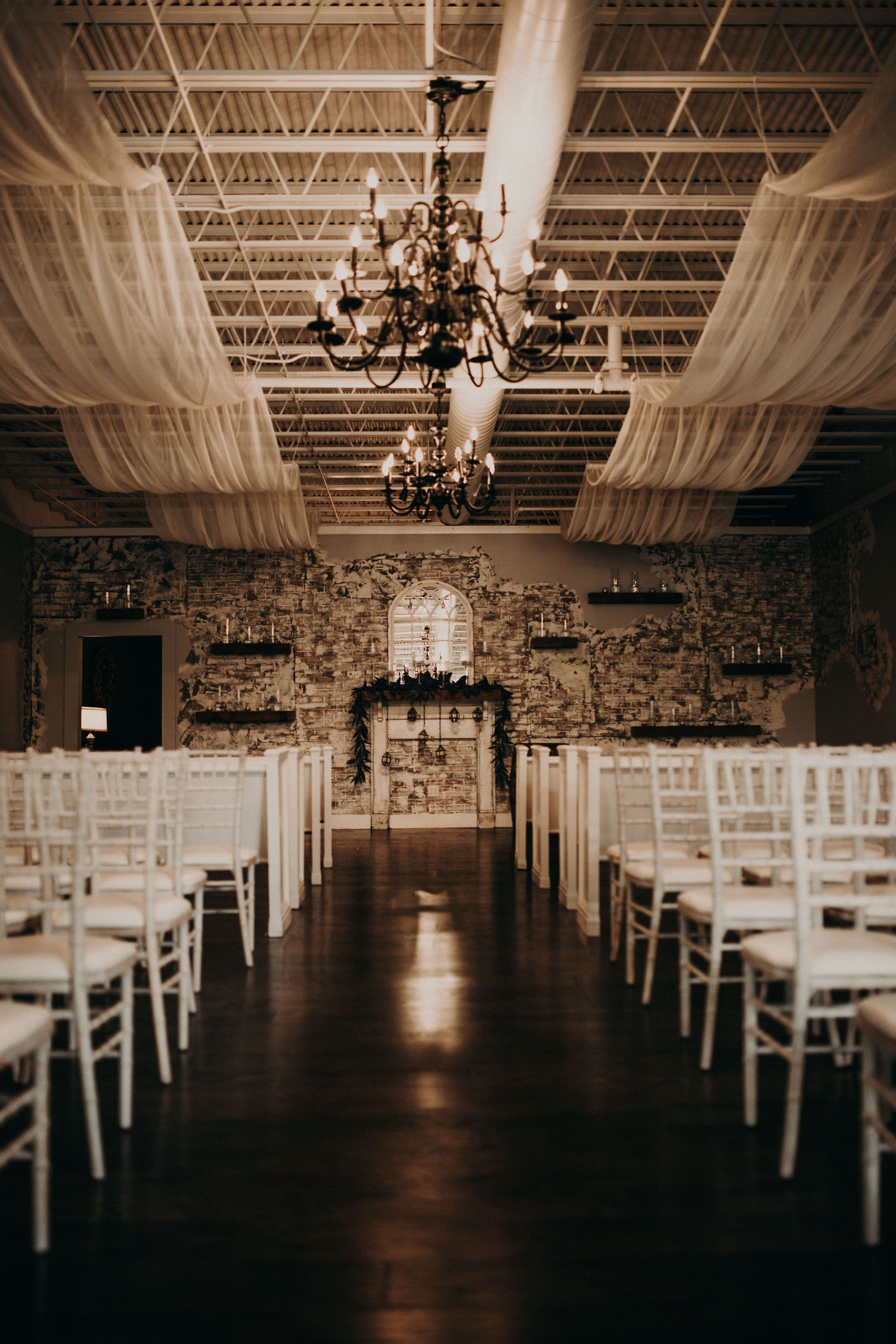 Indoor Venue at The Cotton Gin at Mill Creek in Hiram, Ga ...