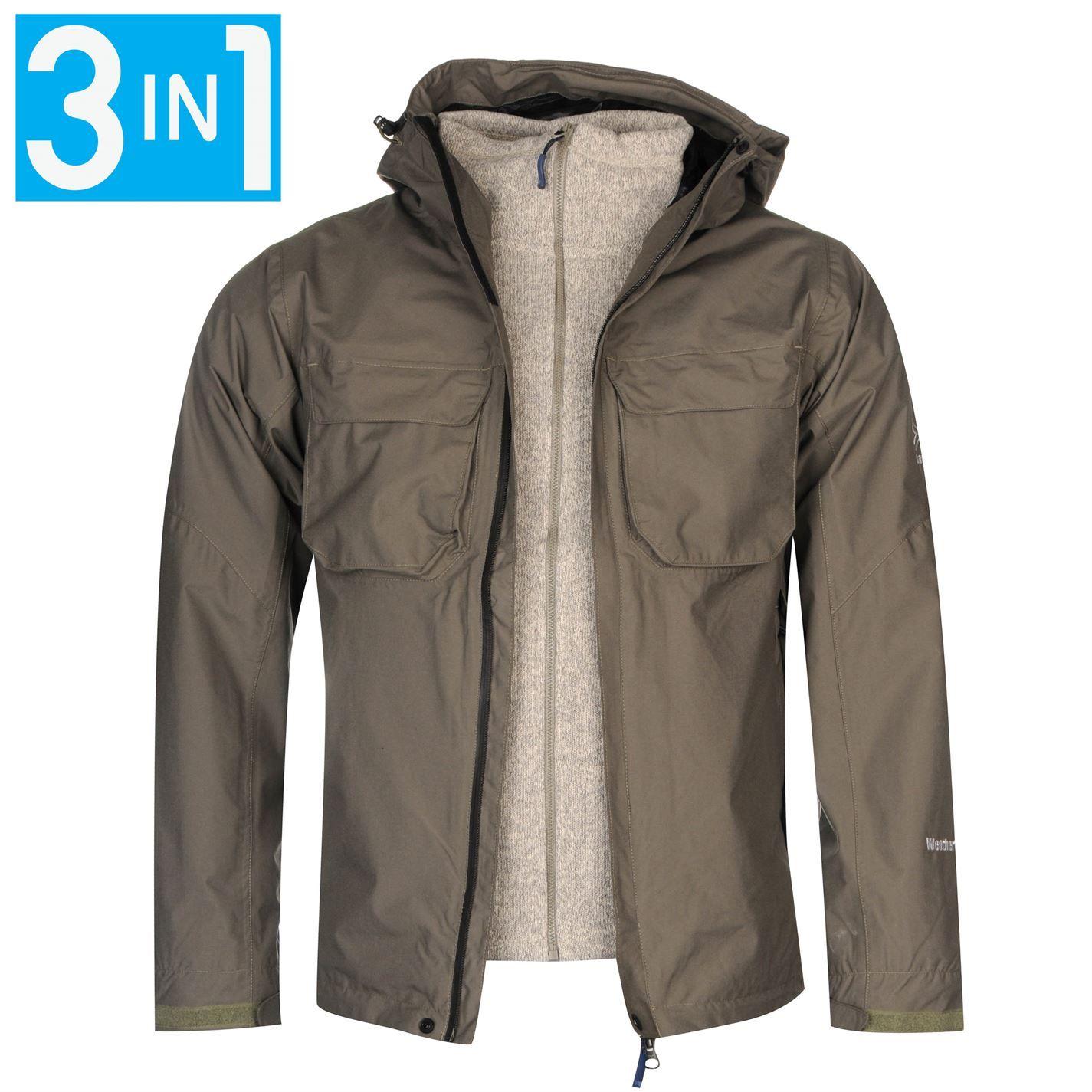 Karrimor | Karrimor Tycoon 3 in 1 Jacket Mens | Mens Jackets and ...