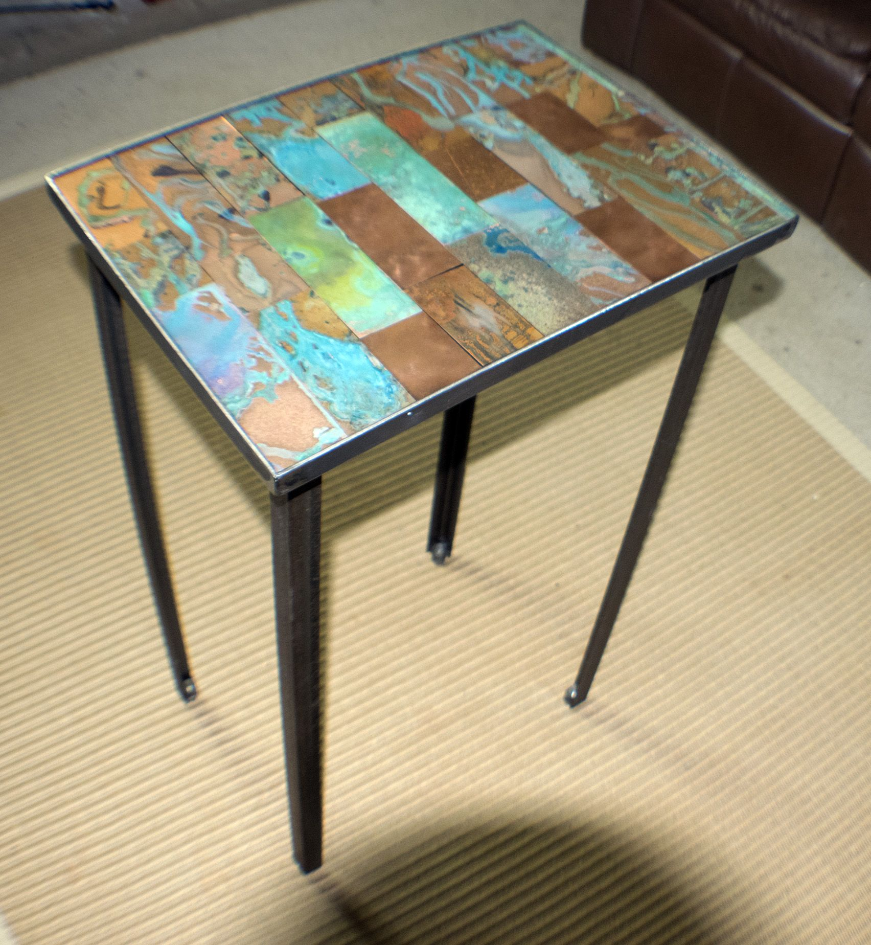 Items Similar To Industrial Urban Style Steel Table With Repurposed