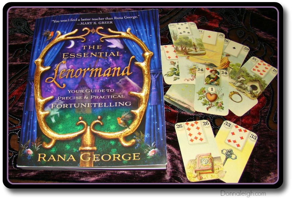 Video Book Review Of Rana George S Lenormand Book The Essential Lenormand From Donnaleigh S Blog Cartomancer Tarot Books