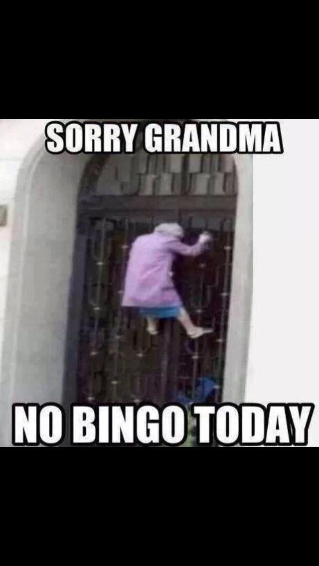 No bingo today