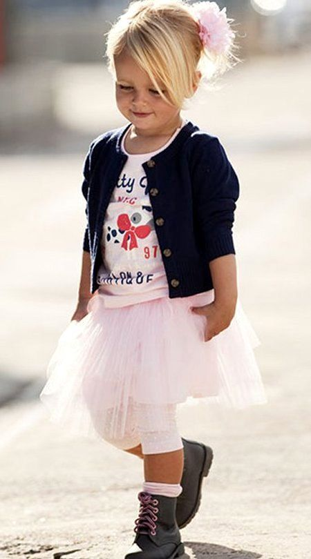 Toddler Newborn Baby Girl Outfit Clothes Sweater Tops Stitching Tutu Dress Skirt