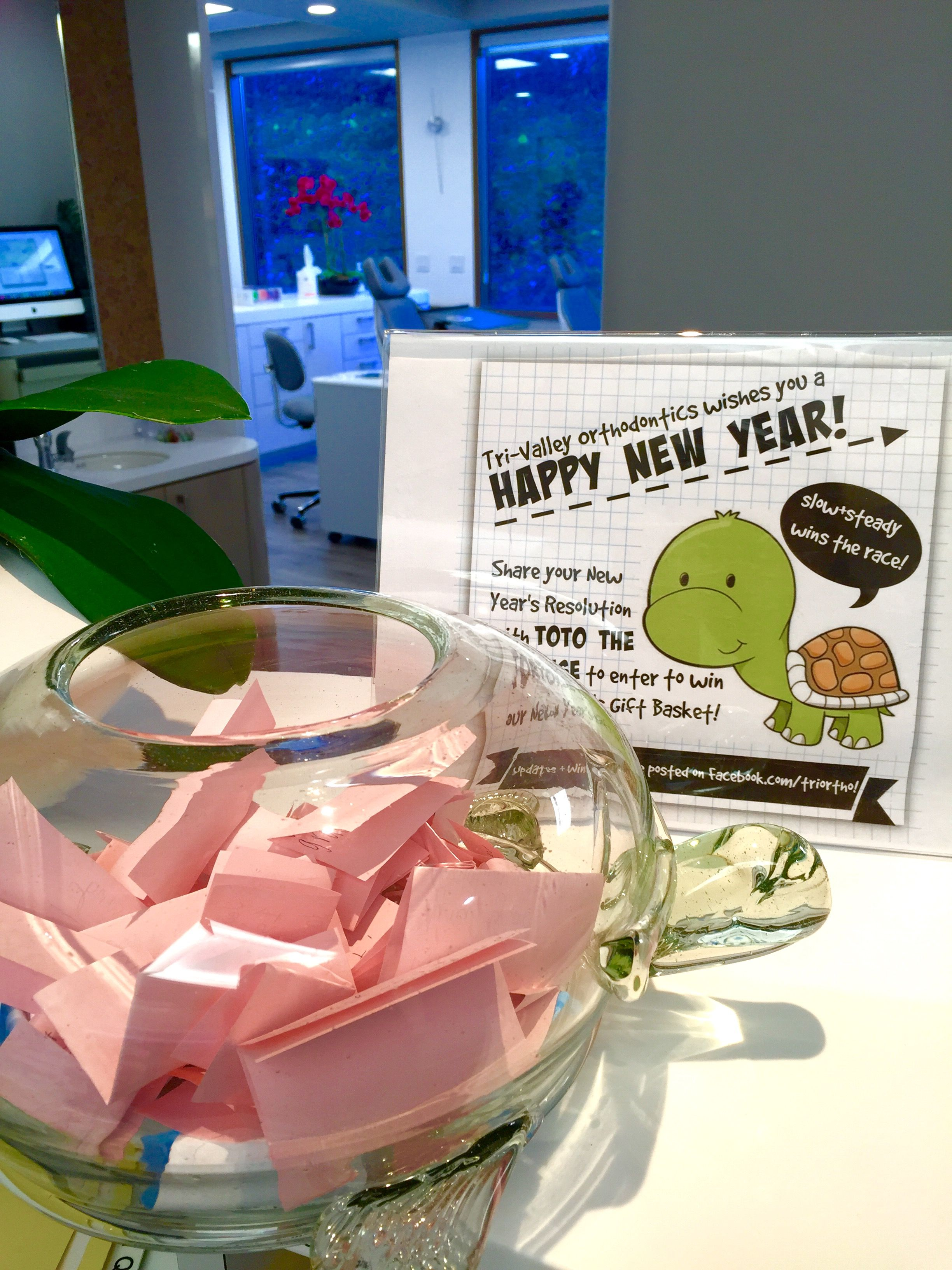 Your Resolutions & Our January Prize Winner Orthodontics