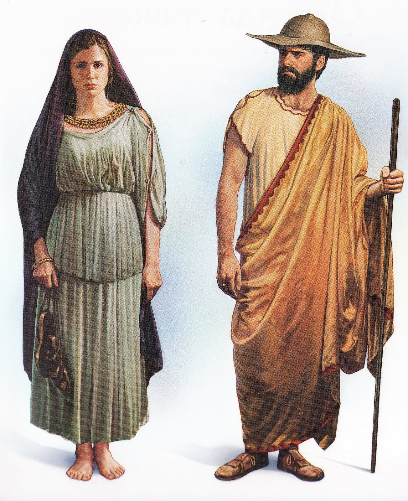 Ancient Roman Clothing For Men: Ancient Greek Costumes
