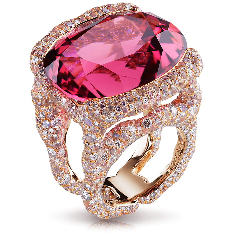 Rosamaria G Frangini | High Pink Jewellery | Katharina Rose Ring