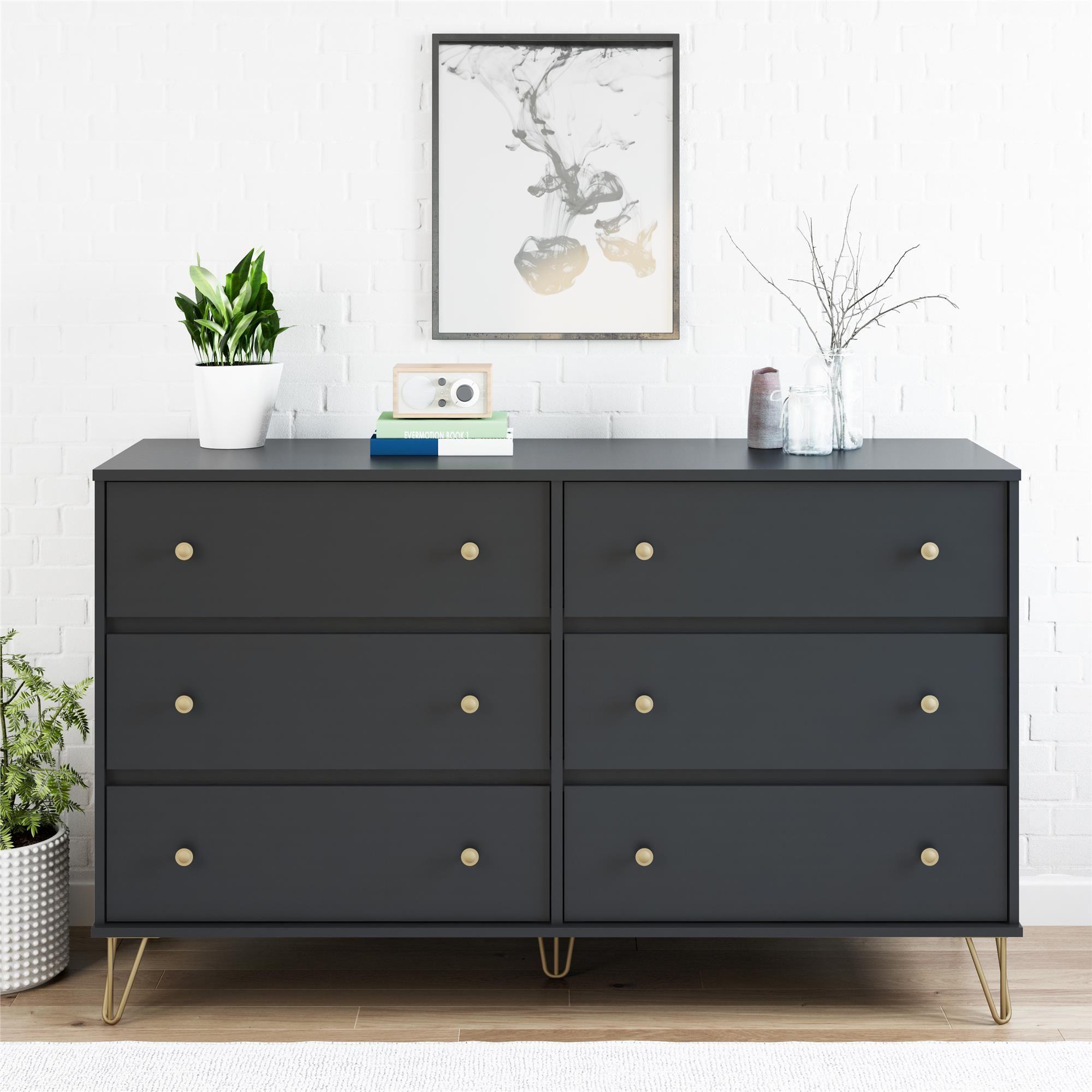 Home In 2020 6 Drawer Dresser Dresser Drawers Six Drawer Dresser