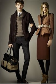 :) Burberry fall 2012-2013