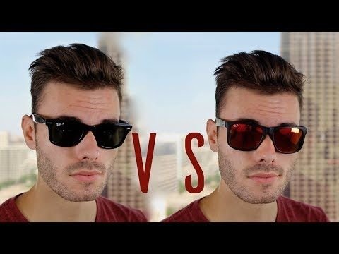61194e4327062 Ray-Ban Original Wayfarer vs Ray-Ban Justin – Sunglasses Offers ...