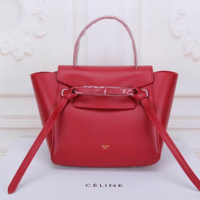 70c56c3749b Celine Small Ring Bag In Red Smooth Calfskin  Celine Ring Bag 38  -  350.00    Celie Bag Online !