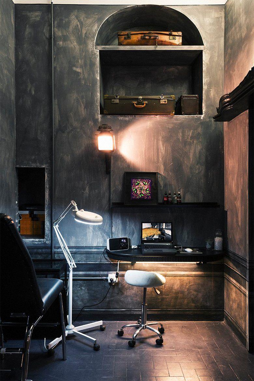 Simple Tattoo Studio Interior Design