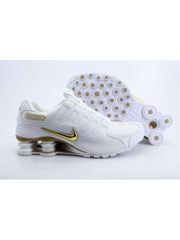 0fadfccc697 Nike Shox Nz Herr Gul Vit SE593555