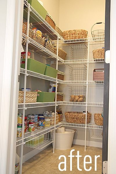 Pin By Maria Jose Soong On Home Style Pantry Shelving Wire Pantry Shelves Pantry Room