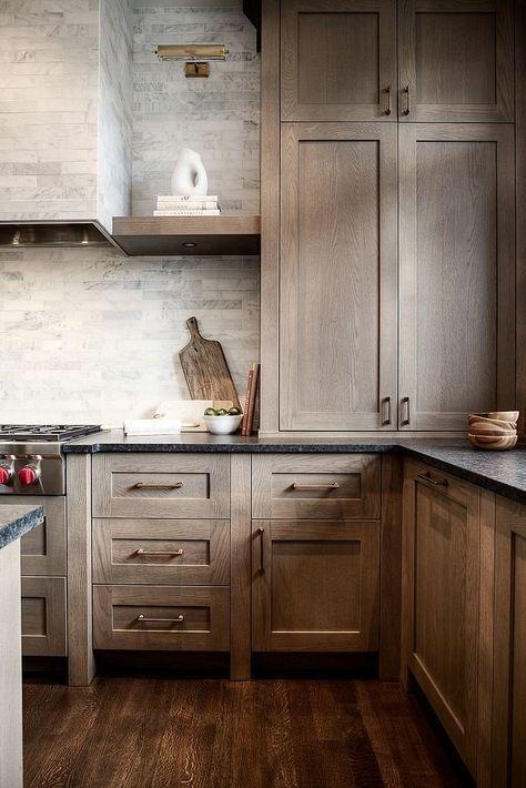 White Oak Kitchen Cabinet Style Shaker style profile for