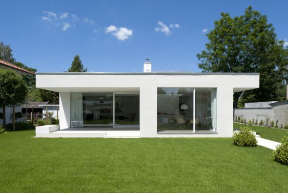Fertigteilhaus bungalow flachdach  bungalow | Ideas for the new home | Pinterest | Rund ums haus ...