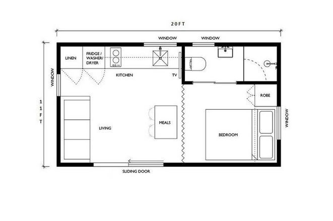 25 The Small Kitchen Layout With Island Floor Plans Tiny