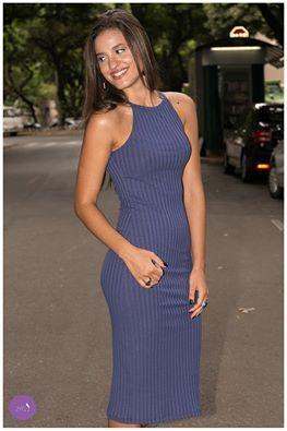 29603be02 Nós apostamos na tendência: vestido de malha canelada! #Vemprazas ...