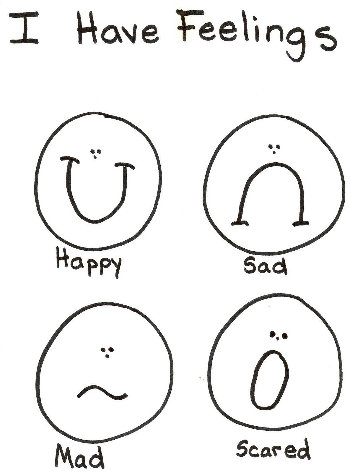 Emotions Coloring Pages Free Yahoo Image Search Results Emotions Preschool Kindergarten Worksheets Printable Kindergarten Worksheets