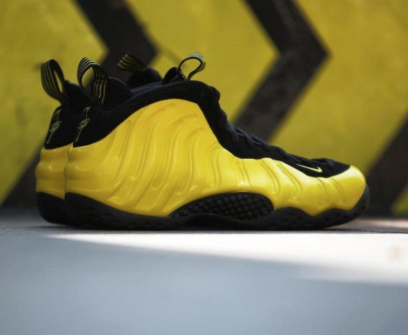 big sale 58f60 2af57 The Nike Air Foamposite One Wu-Tang (Optic Yellow) Drops ...
