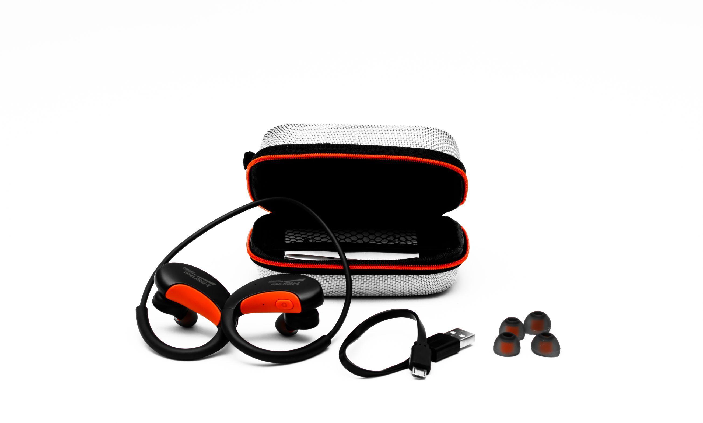 Earphone Dacom L16 Bluetooth Red بسعر 375ج بدل من 450ج Earphone Bluetooth Red