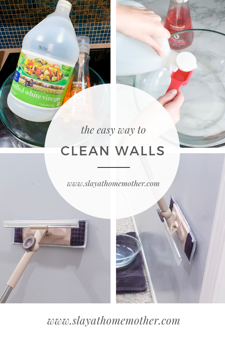 How To Clean Walls Without Removing Or Discoloring Paint Cleaning Walls Cleaning Hacks Cleaning