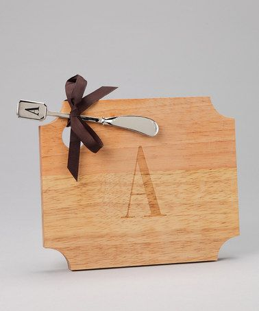 Take a look at this 'A' Server & Spreader by Mud Pie on #zulily today!