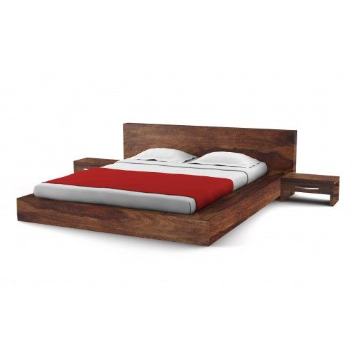A Simple Yet Elegant Extended Platform Bed Who S Sides Give The