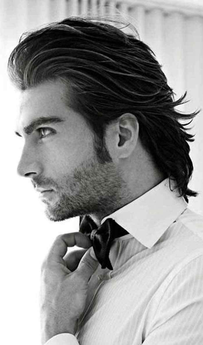 ▷ 1001+ Idées | Pinterest | Hairstyle Men, Shoulder Length And Black Hair