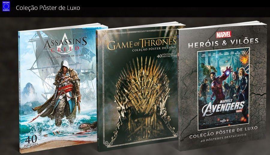 Mundo da Leitura e do entretenimento faz com que possamos crescer intelectual!!!:                     São três livros Heróis & Vilõe...