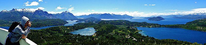Mirador Cerro Campanario, Bariloche. #Fotografía