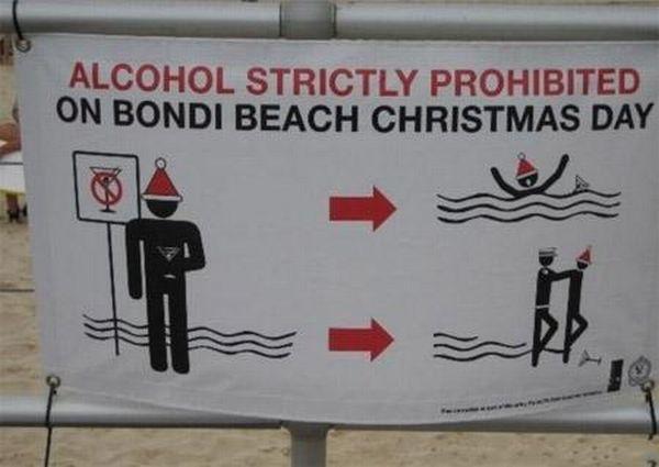 Bondi Beach Beach Humor Funny Beach Australian Christmas Summer Christmas Funny Signs