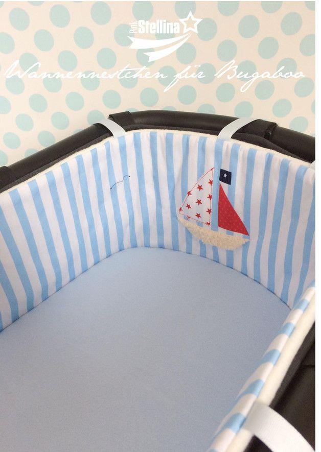 Kinderwagenbezüge - Nestchen passend für Bugaboo - ein Designerstück ...