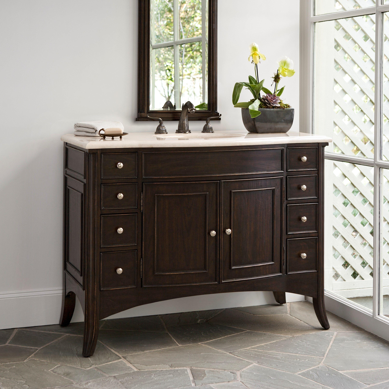 VERONA LARGE SINK CHEST   Ambella Home #Vanity #Furniture #Sinkchest # Bathroom