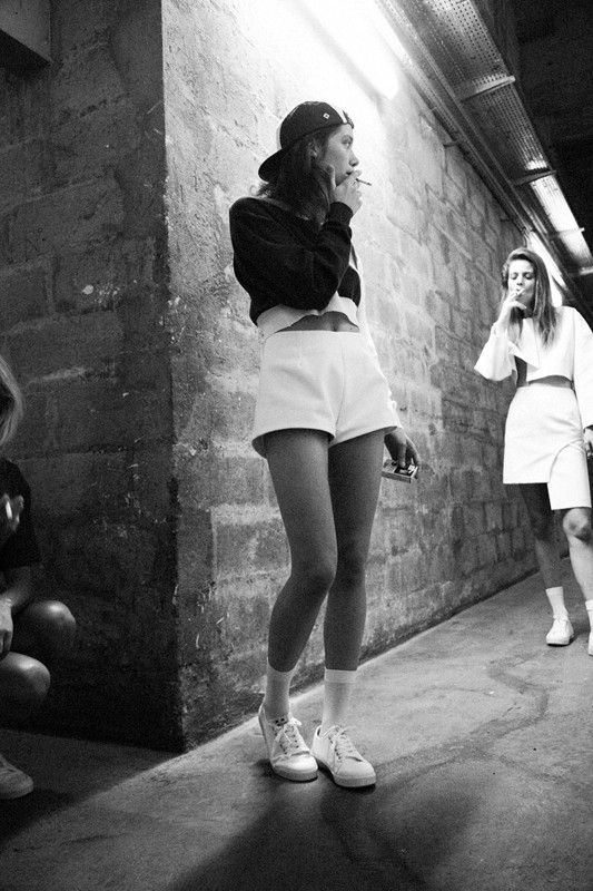 generationsoflove:  Backstage at Jacquemus s/s 2014 by Lea Colombo for Dazed digital