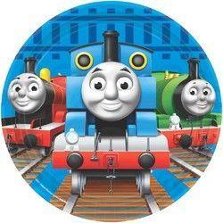 Thomas the Tank Engine 7 Inch Dessert Plates