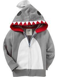 9abb6c7f5 Shark baby hoodie