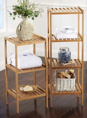 Bamboo Shelf Can Be Used In Any Room Of The Home As Nice Accent Pieces