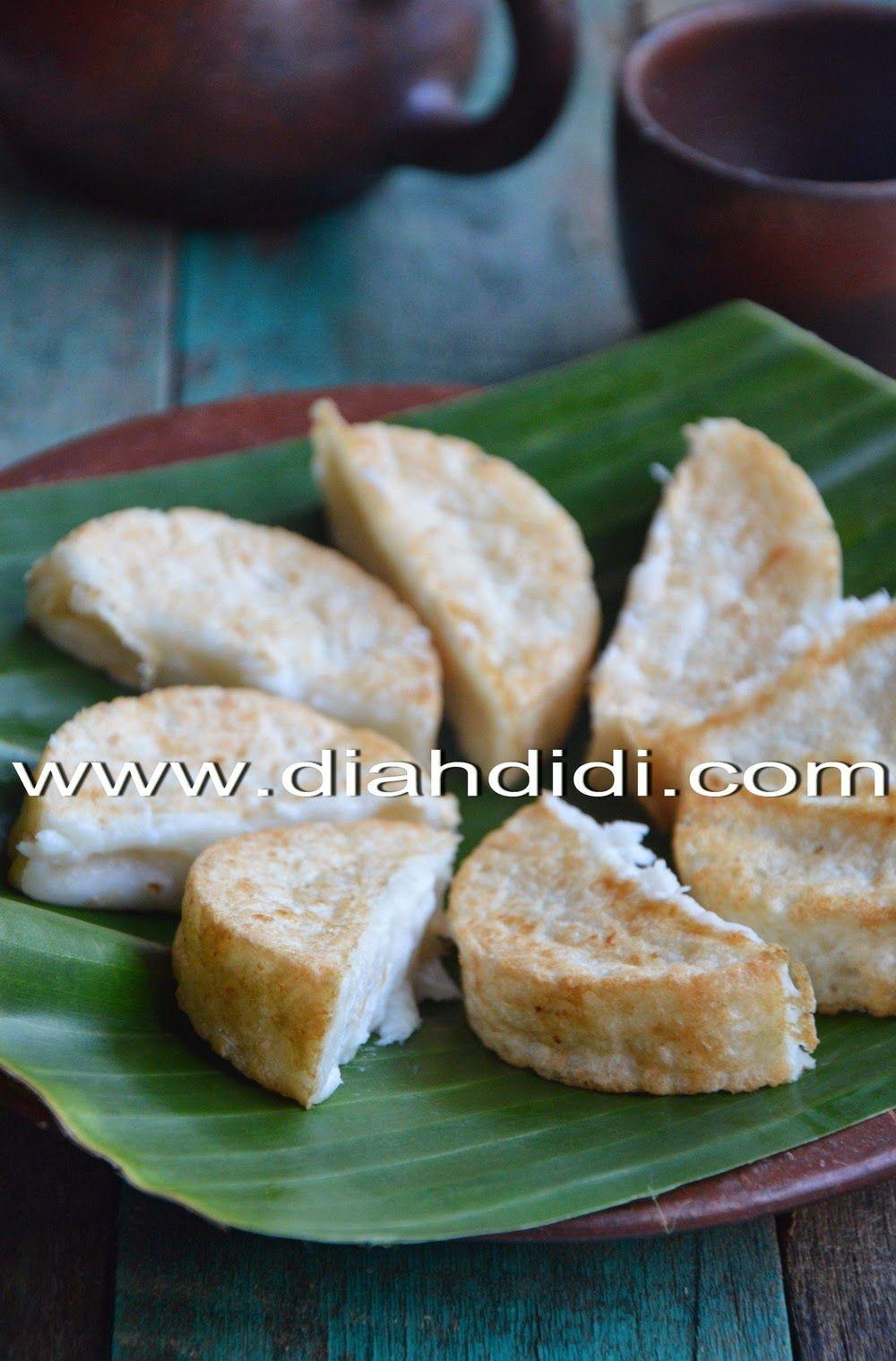 Kue Gandos Adalah Kue Tradisional Jateng Yang Terbuat Dari Tepung Berasa Dan Kelapa Parut Citarasanya Gurih Karena Resep Masakan Resep Makanan Makanan Manis