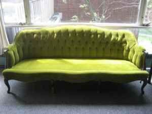 Chartreuse Sofa