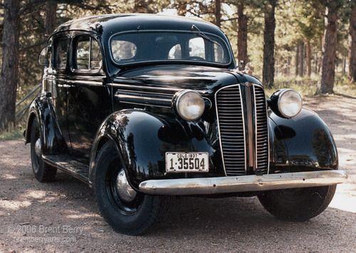 1937 Dodge D5 4 Door Touring Sedan Classic Cars Antique Cars