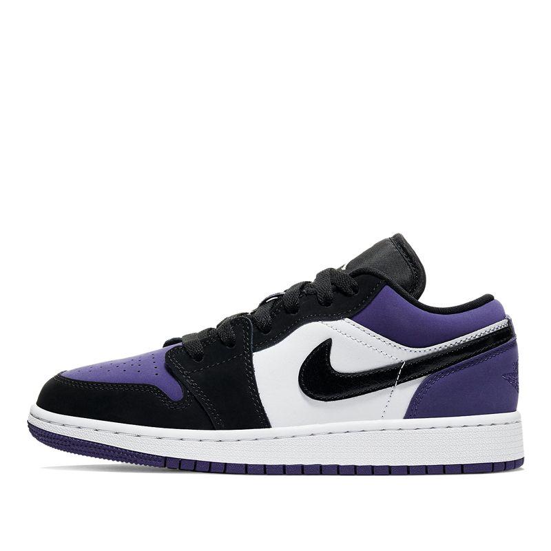553560 125 Nike Air Jordan 1 Low Gs Court Purple Kickscrew Air Jordans Nike Air Sneaker Closet