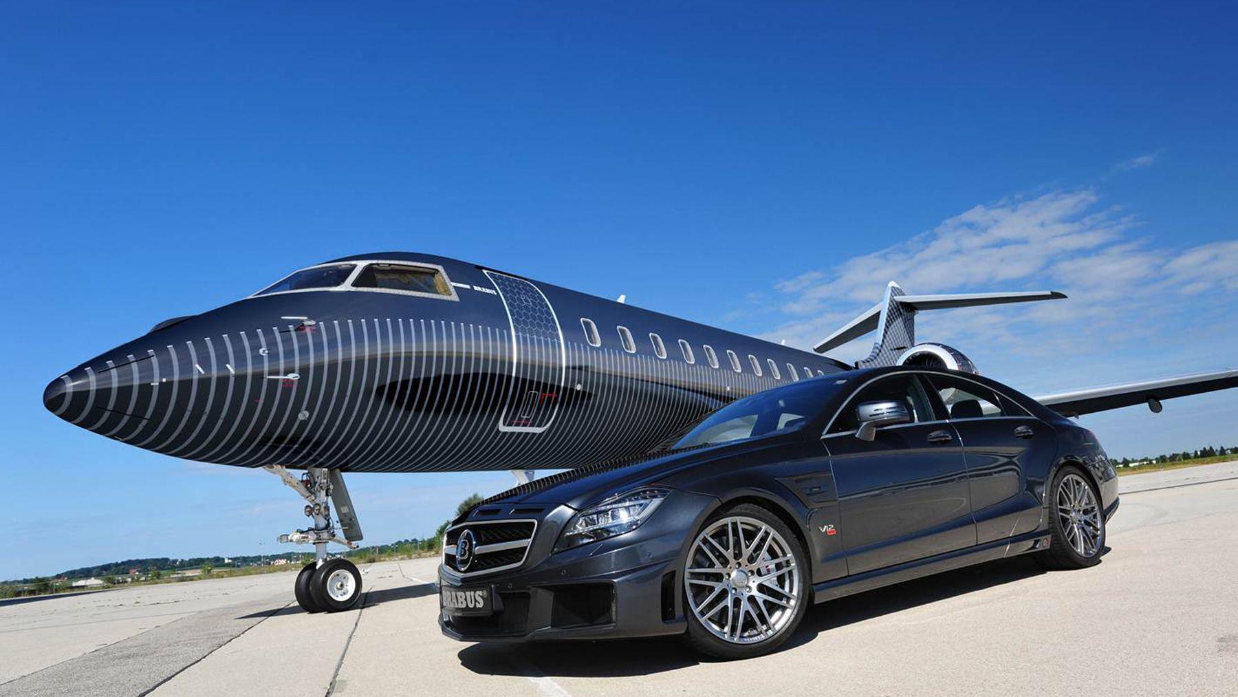Brabus private aviation exterior private jet private