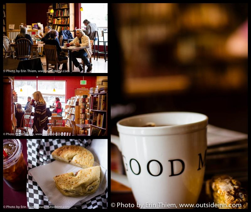 Visit Sierra Mountain Coffee Roasters, buy a second hand book from Tomes and sit down and read.