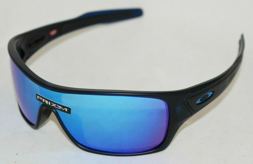 2a98385fa6 eBay  Sponsored NEW OAKLEY TURBINE ROTOR OO9307-2532 TRANS BLUE PRIZM  SAPPHIRE IRIDIUM LENS