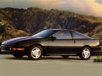 1990 Ford Probe Mine Was Midnight Blue Coolest 4 Cylinder Ford